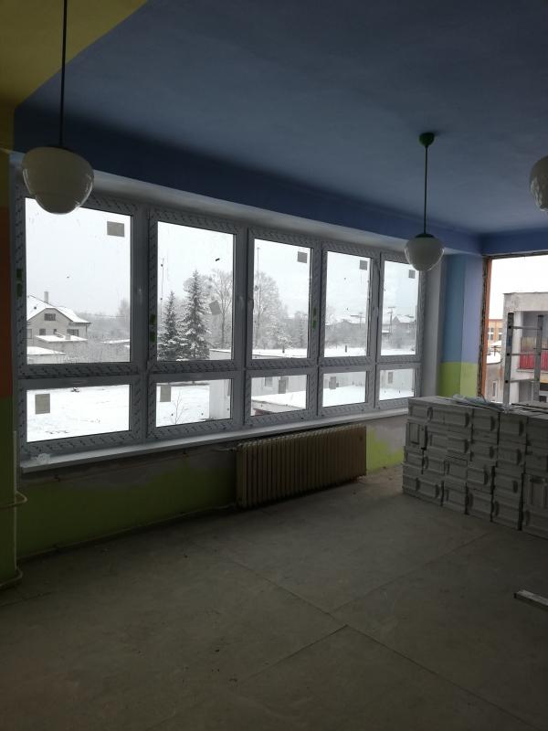 Výmena okien na Materskej škole Kukučínova