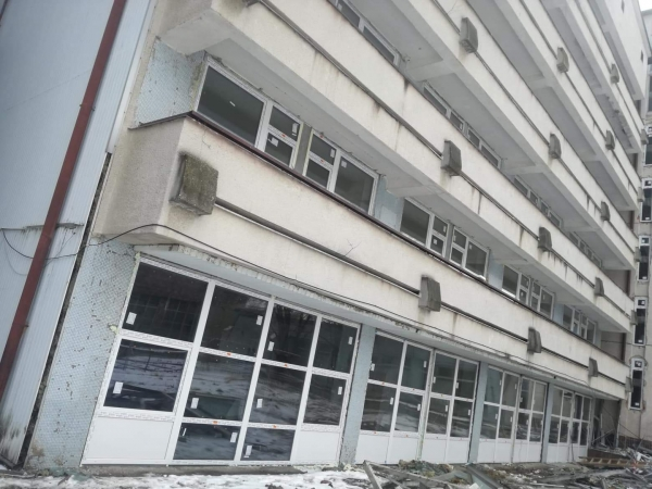 Výmena okien na priestoroch internátu AOS SR