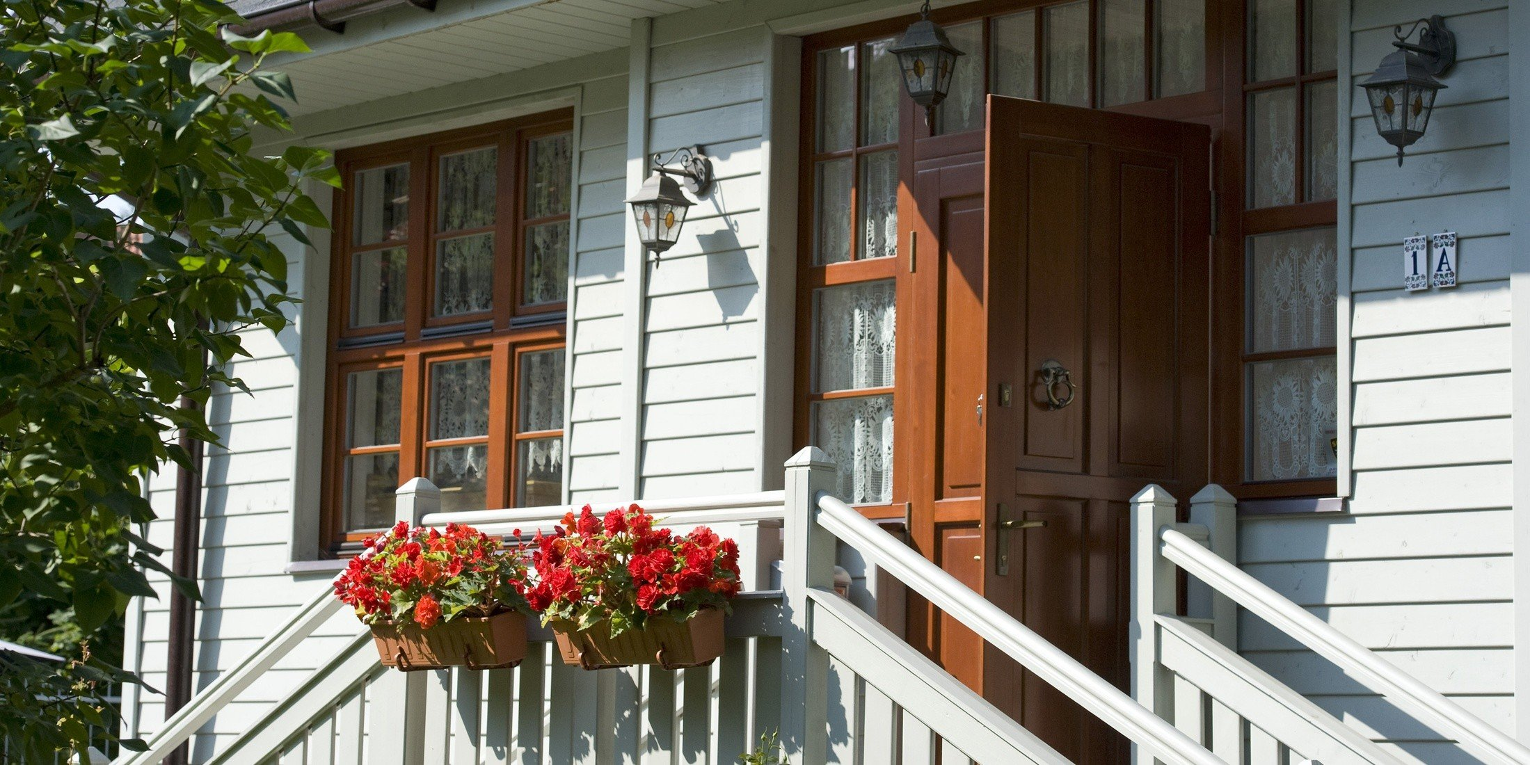 Drevené vchodové dvere Softline
