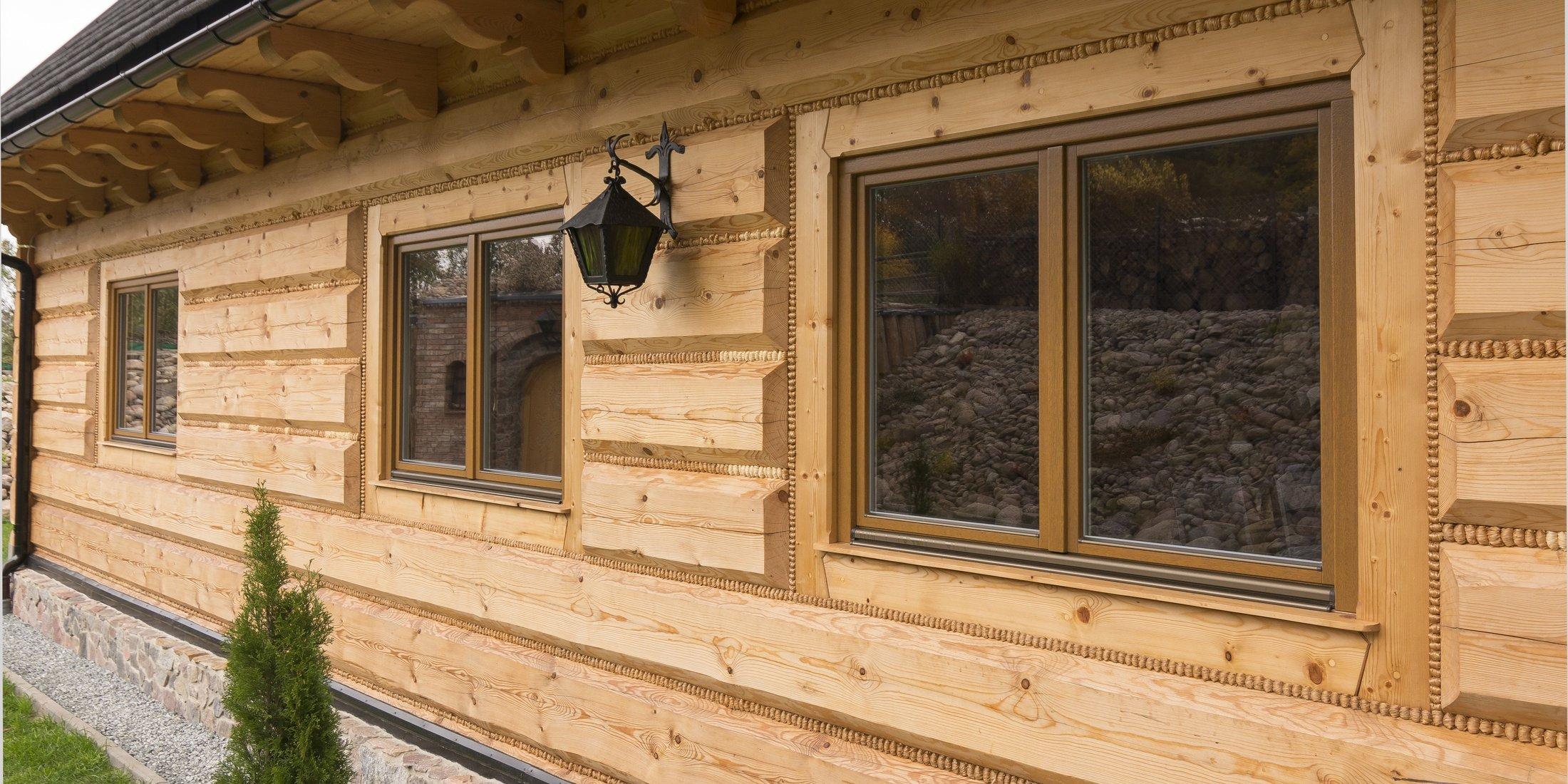 Drevené okná Softline